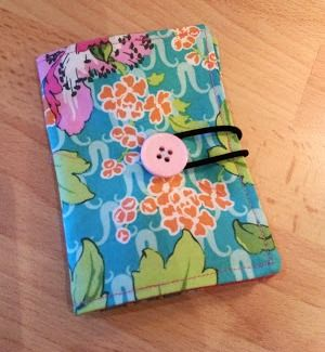 Tea bag travel pouch tutorial - ideal for a quick last minute gift