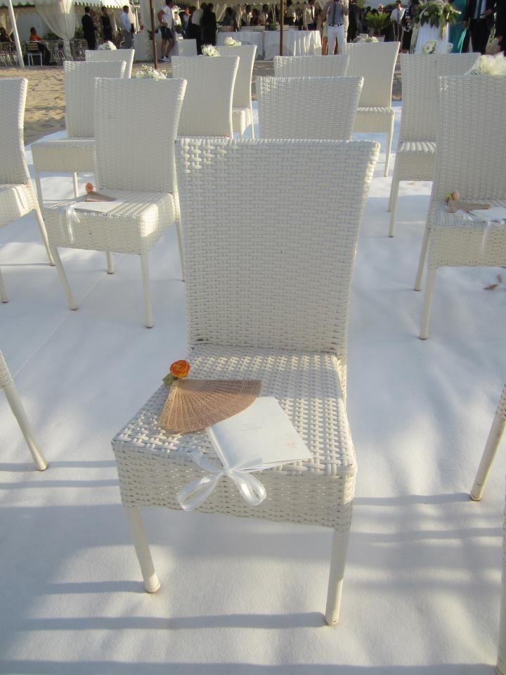 A little fan for wedding
