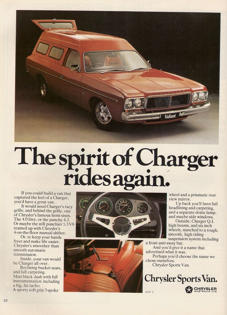 Even Chrysler got into the panel van market with a Valiant derivative!