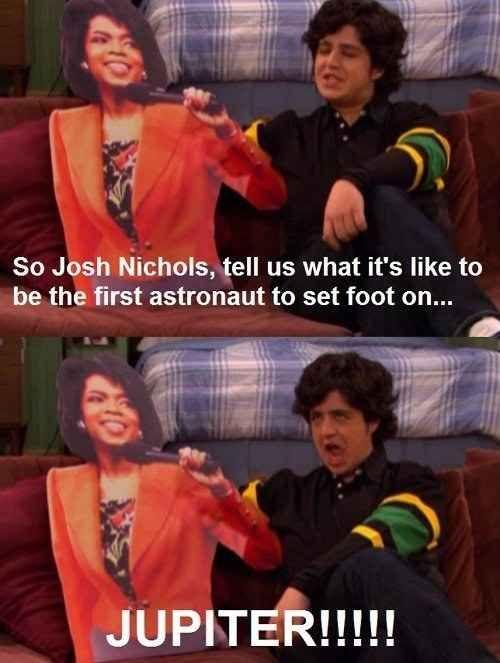 "Astronaut Josh Nichols. | 35 Memorable Lines From ""Drake And Josh"""
