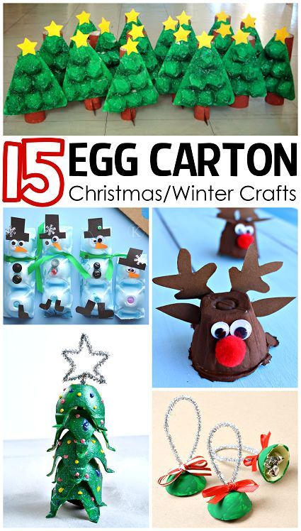 3198 best images about christmas crafts decorations for Christmas decorations using egg cartons
