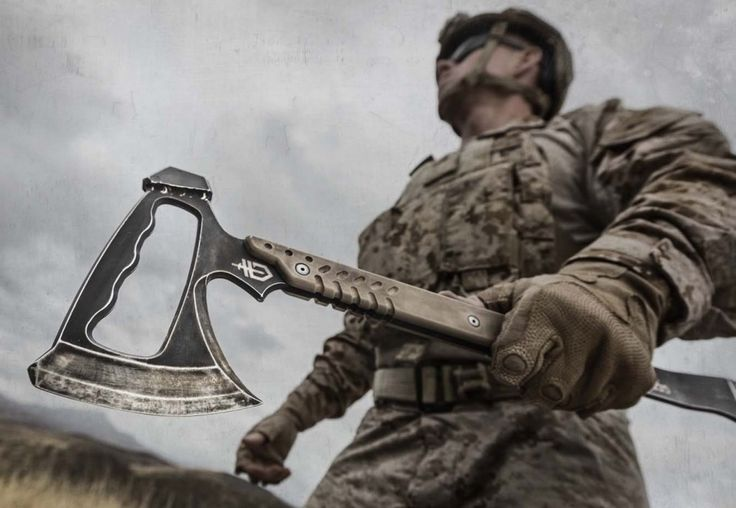 This may be the best Tactiacal Tomahawk of 2014 http://www.swingingsteel.com/gerber-tactical-downrange-tomahawk-review/