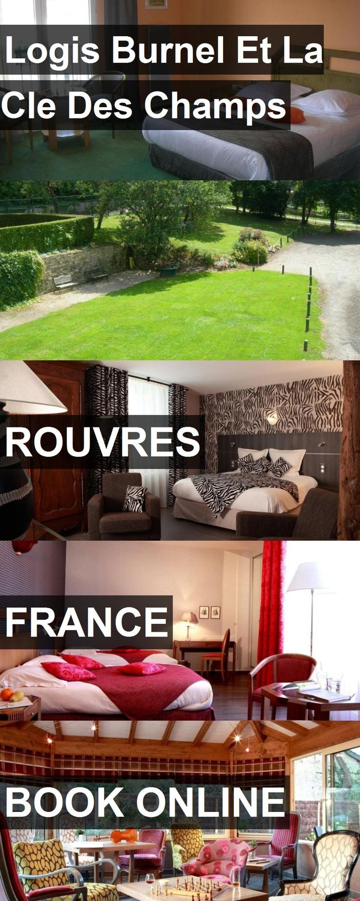 Hotel Logis Burnel Et La Cle Des Champs in Rouvres, France. For more information, photos, reviews and best prices please follow the link. #France #Rouvres #LogisBurnelEtLaCleDesChamps #hotel #travel #vacation