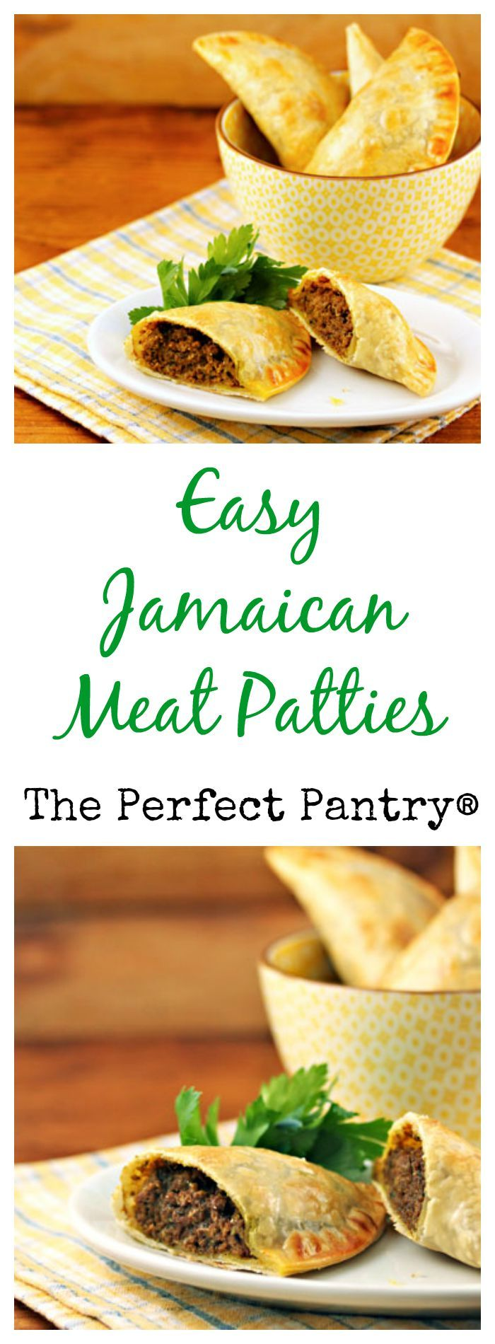 Super-easy Jamaican meat patties, from The Perfect Pantry.   Best ...