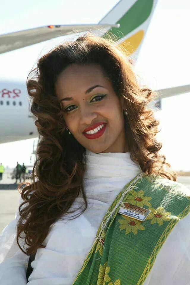 Smile Ethiopia :) Ethiopian airlines flight attendant