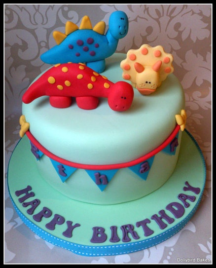 Dino cake  Cake by dollybird
