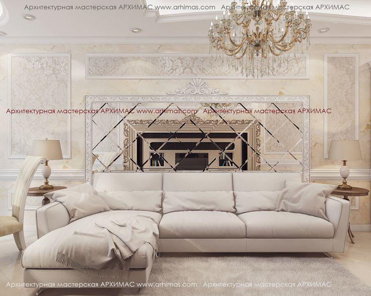 Пример дизайн интерьера ЖК Армейский Микромегас Одесса