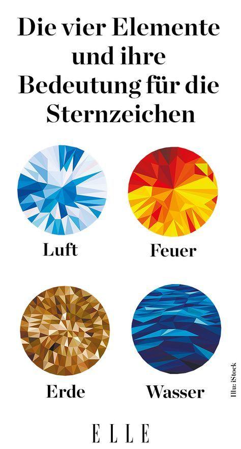 Sternzeichen: Die vier Elemente und ihre Bedeutung – Silke
