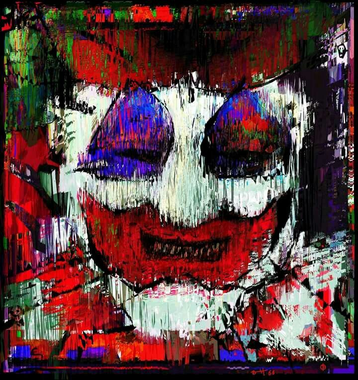 "Portrait of John Wayne Gacey ""The Killer Clown"", by Brett66"