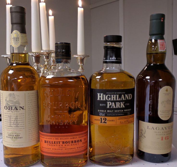 Nu när det har blivit vinter och kallt passar det lämpligt att värma sig med god whisky och ett trevligt samtal. Så ikväll hade en stor grupp samlats på Scandic hotell i Västerås för att prova whisky, samtidigt som vi skulle prata och ha det allmänt trevligt. Följande whiskysorter provades under kvällen: Whisky 1 – Oban 14 YO Vi började med en skotsk single malt från distriktet Highland. Det är …
