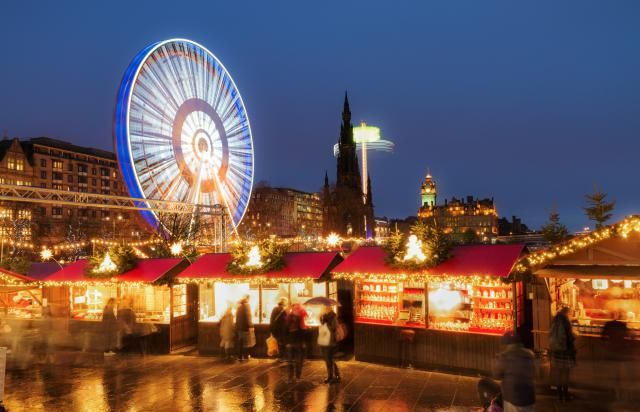 16 of the Best Festive Markets for Christmas Shopping European Style: Edinburgh - Holiday Shopping in the UK's Festival Central