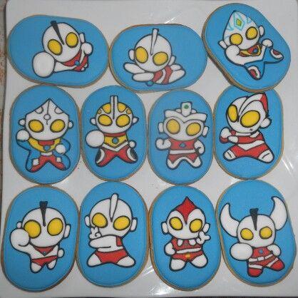 Ultraman cookies