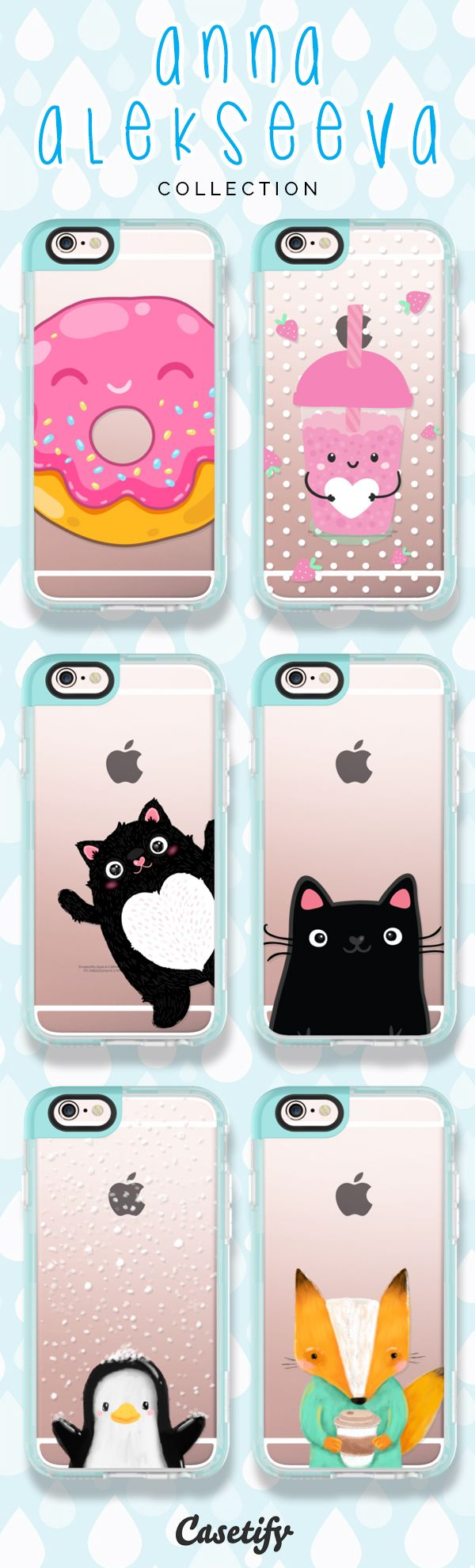 Take a look at these cute designs by @kostolom3000 on our site now! https://www.casetify.com/kostolom3000/collection | @casetify