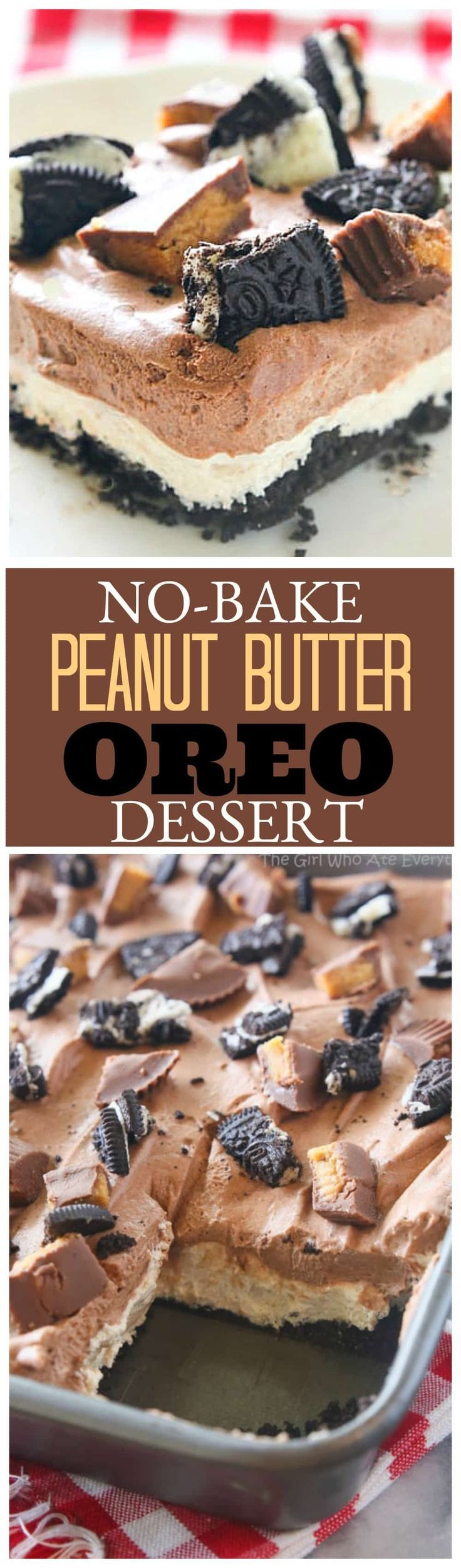 488 best peanut butter desserts images on pinterest delicious no bake peanut butter oreo dessert a crowd pleasing easy dessert great for potlucks forumfinder Image collections