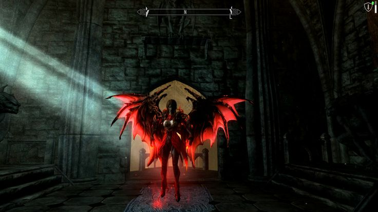 Vampire Lord Replacer Mod (magic mode) link: http://www