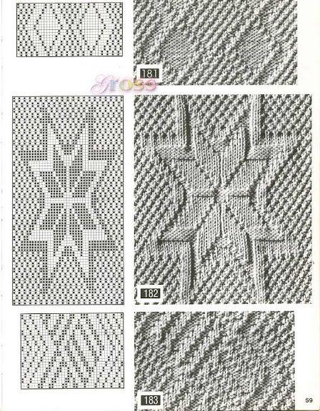 Узоры спицами, knit, knitting
