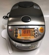 Zojirushi NP-HCC10XH Induction Heating System Rice Cooker & Warmer 5 CUP