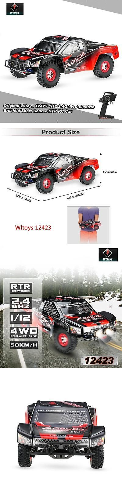Cars Trucks and Motorcycles 182183: Gift Wltoys 12423 1 12 2.4G 4Wd Electric Brushed Short Course Rtr Rc Car Us Plug -> BUY IT NOW ONLY: $57.85 on eBay!