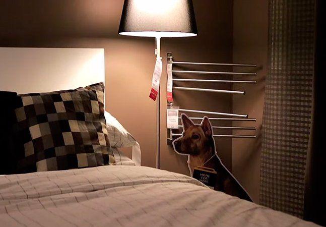 Uma nova campanha da Ikea, loja de móveis sueca, visa a adoção de cães abandonados. AHome for Hopenão poderia deixar de usar o design inteligente para incentivar o encontro de um novo lar para os bichos - na campanha, foram capturadas imagens de cães de rua e depois transformadas em um totem de papelão, em tamanho real. Com isso, todos os showrooms da Ikea possuem um cachorro de mentirinha, mas que existe de verdade e está em busca de uma família. Eles podem estar sentados no meio de uma…