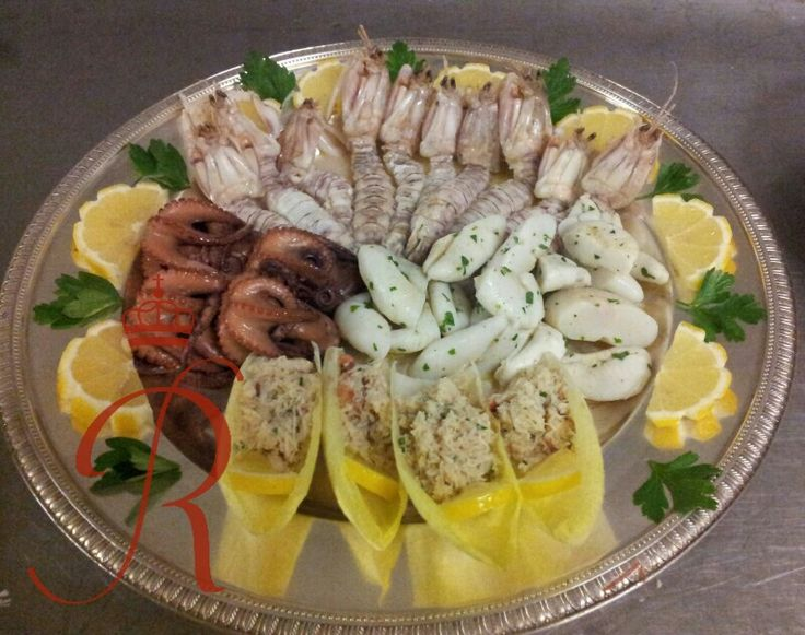 Seafood centerpiece