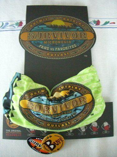 Survivor Buffs Deals: Survivor Micronesia Green Dabu Tribe Buff - origin...