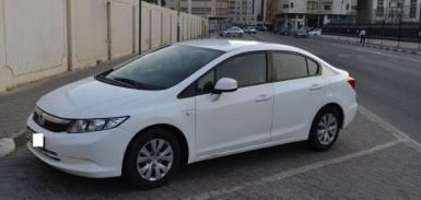 Honda Civic 2012 LXI, GGC specs, accident free in excellent condition   Car Ads - AutoDeal.ae
