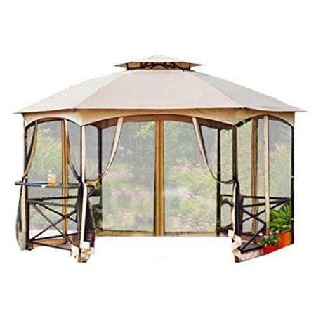 Garden Winds Crossman Hexagon Gazebo Replacement Canopy Top Riplock 350