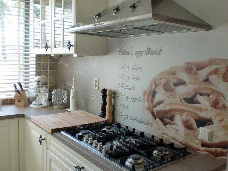 Visualls keukenachterwand foto Premium - Startpagina voor keuken ideeën | UW-keuken.nl