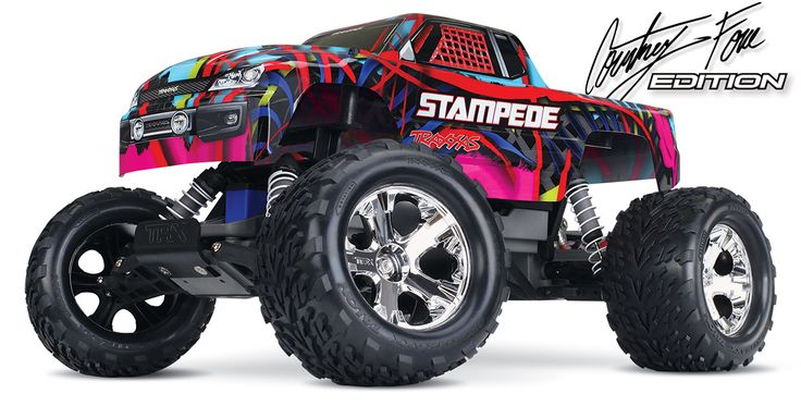 Delicieux Traxxas Courtney Force Stampede