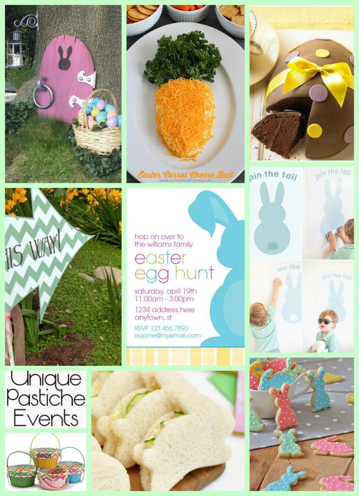 Family Easter Egg Hunt Party Spring Easter Party