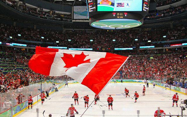Men's Ice Hockey: Canada vs. USA by Jeffery Simpson, via Flickr