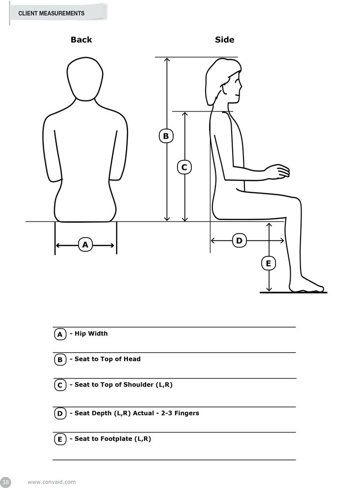 Measurement For Your Chair