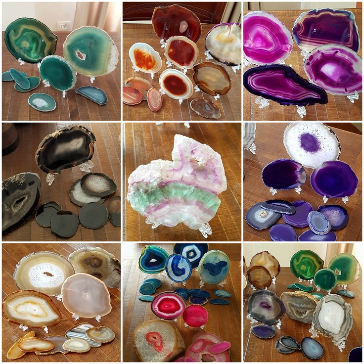 My private agate collection ...