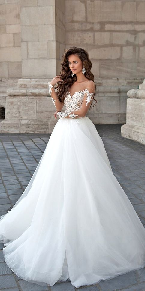 White with Wedding Dress