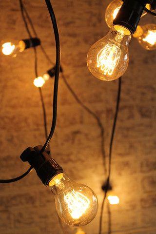 Festoon Lighting - Outdoor String Lights