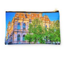 The Law Courts Building and Old Town Hall - Bendigo, Victoria Studio Pouch