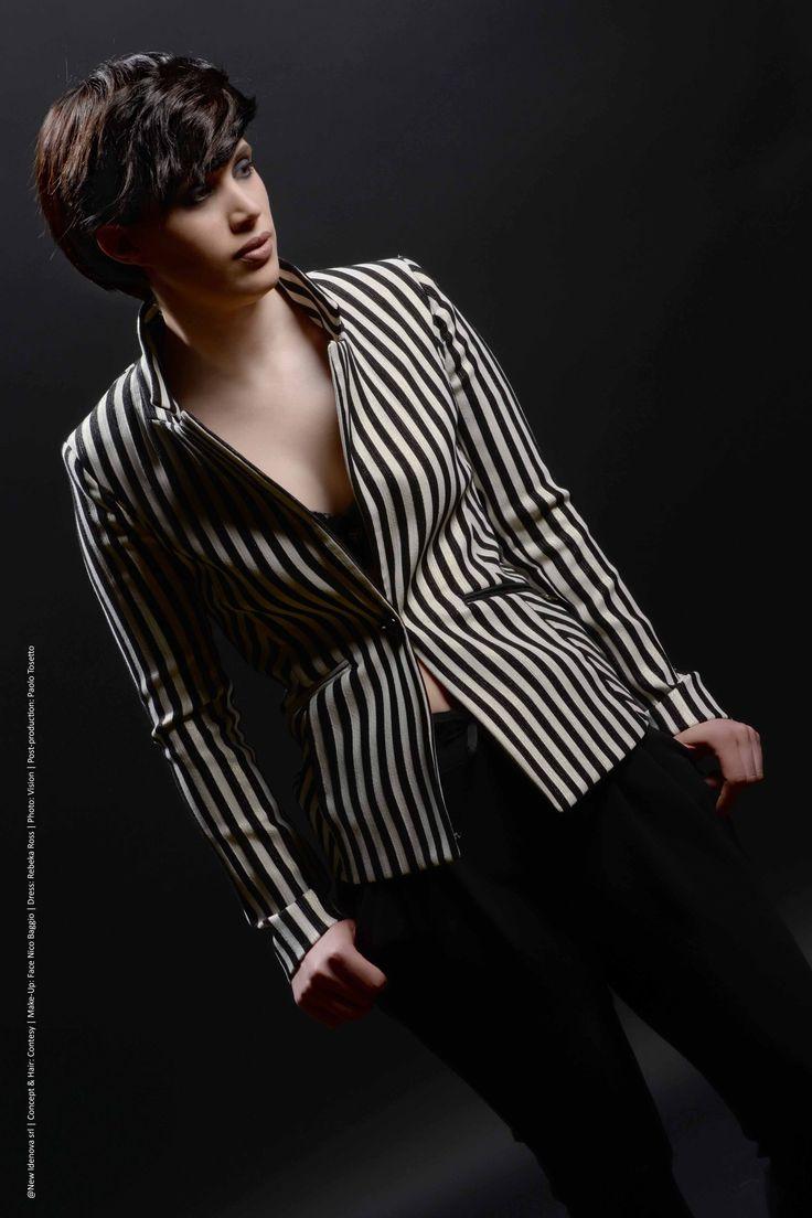 LIBERTY collection AI-2016|17 ©NewIdenova srl | Concept&hair: Contesy | Make-up: Face Nico Baggio | Dress: Rebeka Ross | Photo: Vision | Post-production: Paolo Tosetto