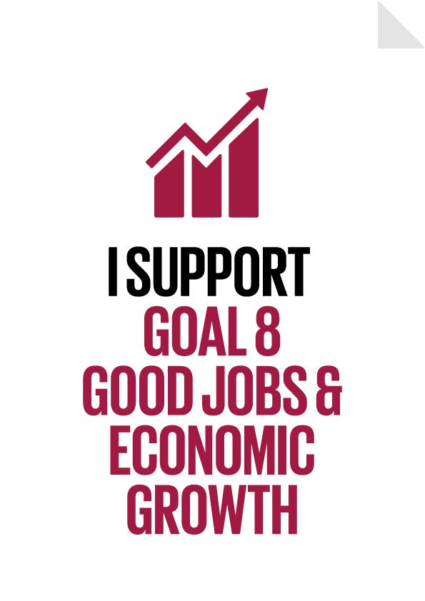 Goal 8 Good Jobs and Economic Growth Poster Preview
