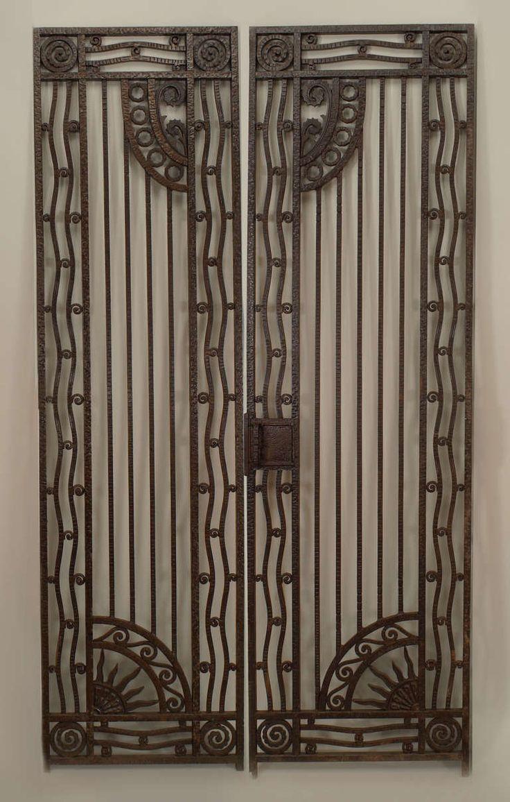 Wrought Iron Patio Doors : Gates door patio security gate glassessential