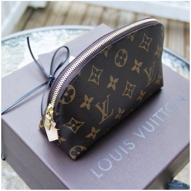 Louis Vuitton Cosmetic Pouch in Monogram Canvas $335