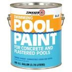 Zinsser 1 gal. Blue Flat Oil-Based Swimming Pool Paint (Case of 4)