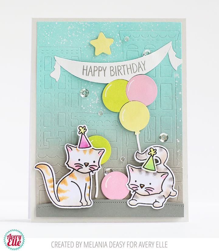 54 best Cards Avery Elle Critters images – Avery Birthday Card Templates