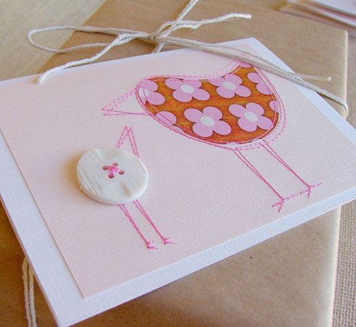 Lovely homemade Easter card