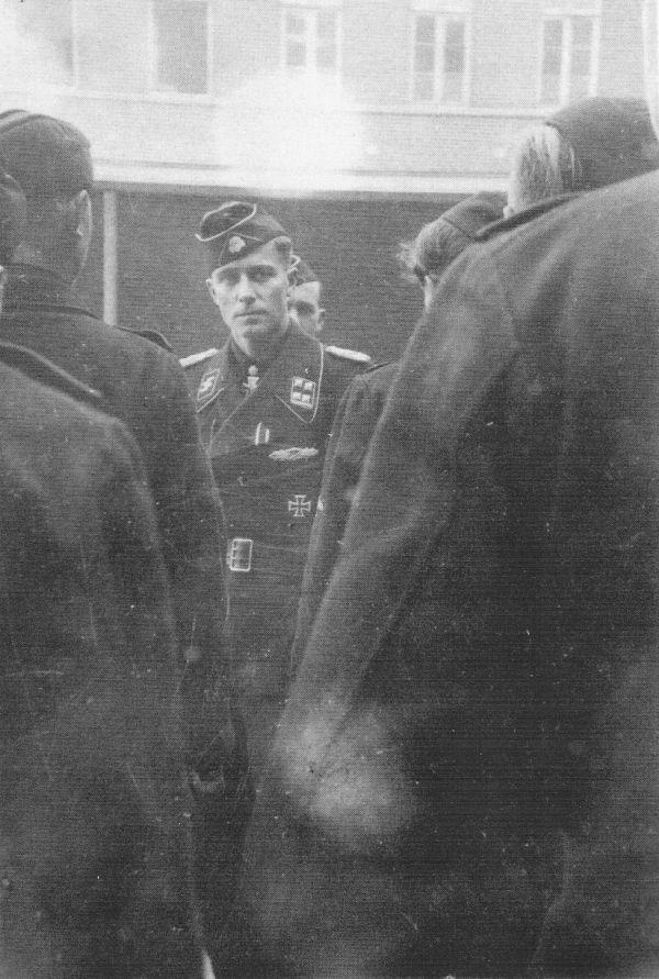 Joachim Peiper and his men in 1944.