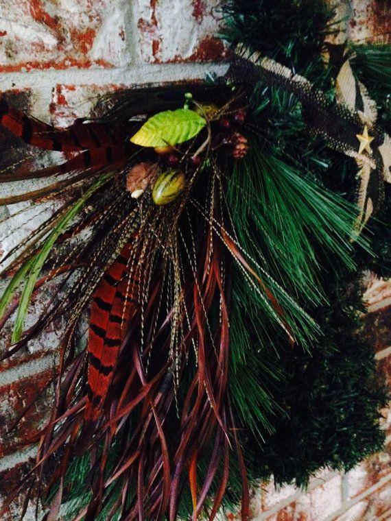 Horse head wreath horsehead wreath orse head by GarnishAndGlitz