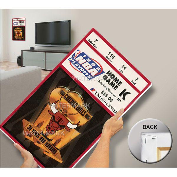 Chicago Bulls 1996 NBA Finals Champions Game 5 Mega Ticket - $79.99