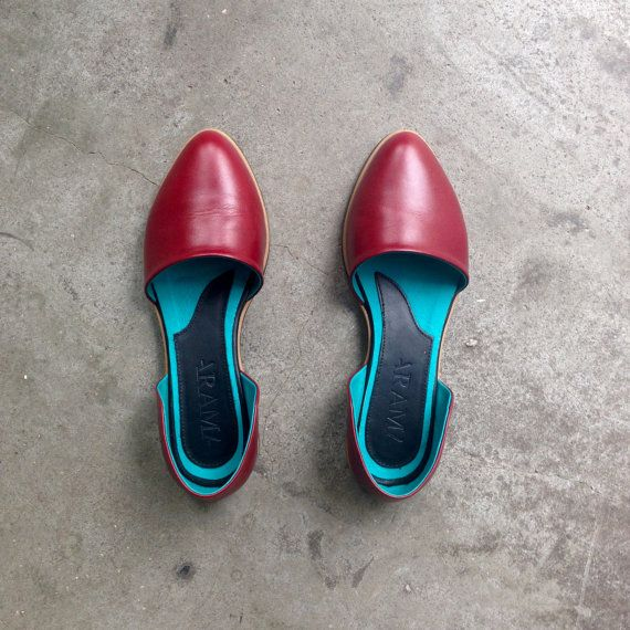 VALENTINE SALE Womens Moccasin  Womens leather Shoes от ARAMAshoes