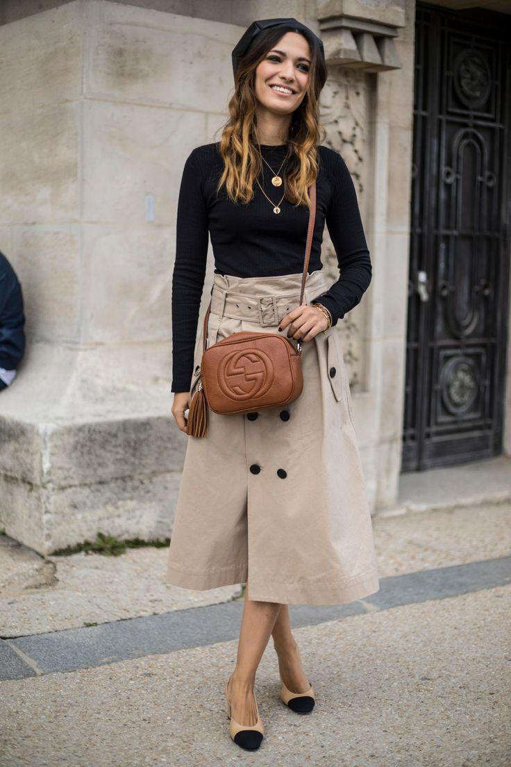 On the street at Paris Fashion Week. Photo: Chiara Marina Grioni