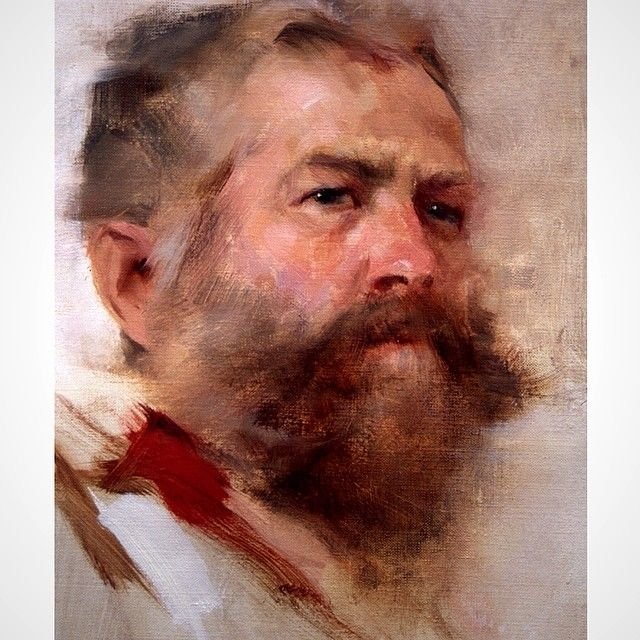 Alla prima painting by Richard Schmid. #art #paintguide #painting #richardschmid