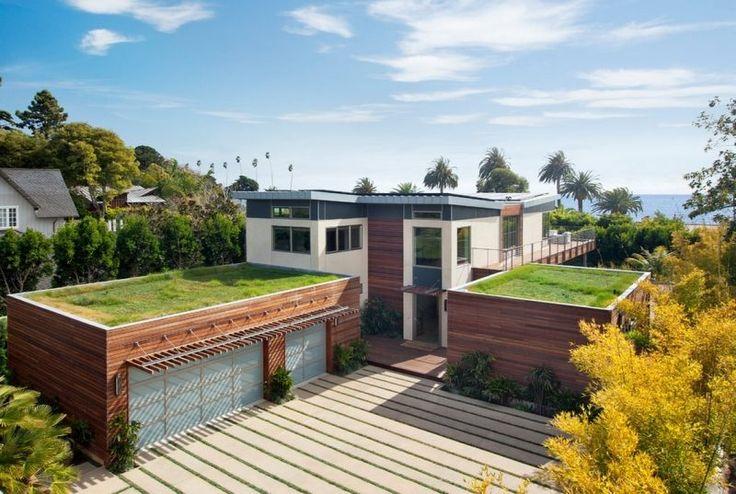 Gründach mit Rasenfläche gestalten - umweltfreundlich